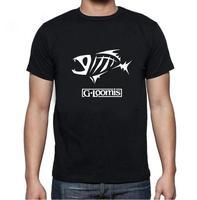 2017 Summer Mens Shirt Printing O Neck Short Sleeve G Loomis T Shirts Men Popular Gear