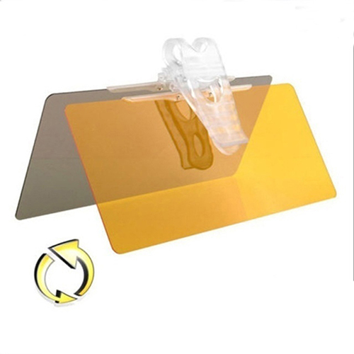 Автомобильный солнцезащитный козырек антибликовый блокиратор УФ складной откидной HD прозрачный солнцезащитный козырек