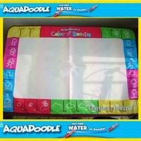 Pieza 3color8 Freeship Mat + 8Pen tamaño Grande 80*56 y 75*75 cm Aquadoodle Del Americano Del Doodle Mat & 1 Magic Pen/Reemplazo del Dibujo del Agua