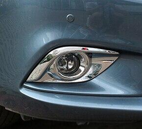 2 PC pour Mazda 6 ATENZA 2014-2016 cadre abat-jour avant antibrouillard décorer autocollant