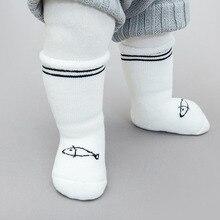 3Pair/Lot Baby Cartoon Socks Newborn Unisex Lovely Warm Winter Bebe Seamless Sock For Boys Girls Autumn Children Floor 0-3Y