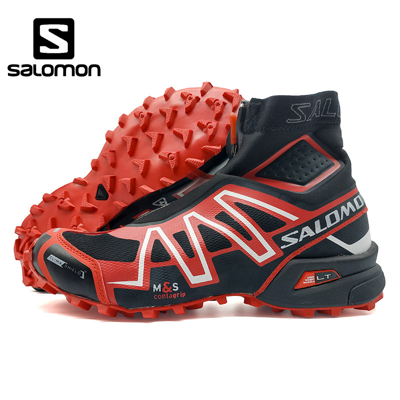 2018 Salomon Speed Cross CS waterproof Sneakers Men Running Shoes Classic red Outdoor Warm Speedcross Sports Shoes eur 40-46 кастрюля rondell mocco and latte 2 л rda 280