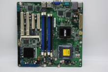 FOR ASUS P5BV-M/RS100-E5 775 Server Motherboard Dual Gigabit LAN DDR2 Sea Spider Soft Routing M-ATX Original Used motherboard(China)