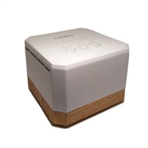 Nobico 2019 New Mini Air Purifier Desktop Negative Ion HEPA Filter Air Ionizer 3 Mode Air Cleaner Wooden Grain 100V-240V(China)