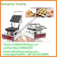 Ce certificaat ei taart vormmachine taartje baker machine commerciële wafelijzer ei taart vormen machine ei taart maker-in Wafelijzers van Huishoudelijk Apparatuur op
