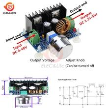 Max 8A XL4016 XL4016E1 200 Вт Высокая мощность DC-DC XH-M401 ШИМ Регулируемый понижающий преобразователь модуль регулятор напряжения в шинах