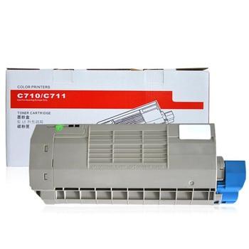 GraceMate C710 C711 Color Toner Cartridge Compatible for OKI C710 C711 Printer Toner 710 711 compatible okidata 45536406 clear toner cartridge chip for oki transfer belt c911 c931 c941 c942 c 911 931 941 942 printer chips