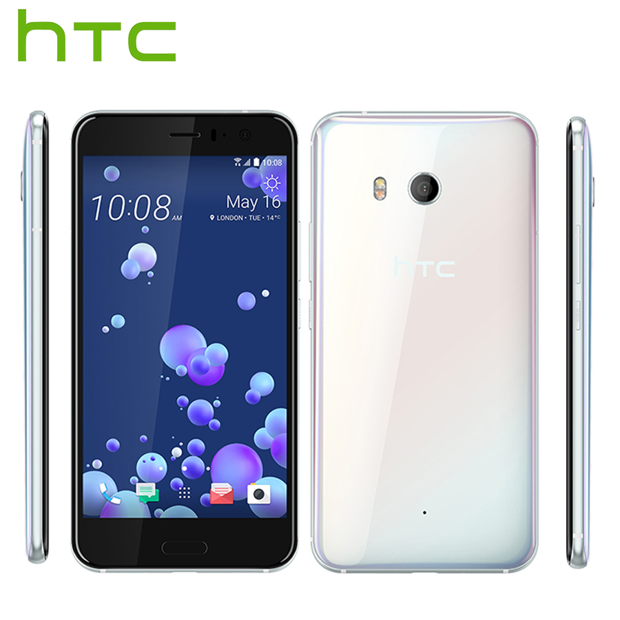 Brand New HTC U11 LTE Mobile Phone Snapdragon 835 Octa Core IP67 Waterproof 6GB RAM 128GB ROM 5.5 2560x1440p Dual SIM Callphone