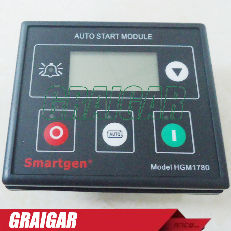New Smartgen Generator Controller HGM1780 Auto Start Module free shipping dse7320 engine generator controller module auto start control suit for any diesel generator