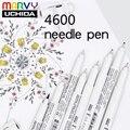 MARVY Pigma Micron лайнер для рисования  маркеры с тонким наконечником 0 03/0 05/0 1/0 2/0 3/0 4/0 5/0 6/0 7/0 8/1 0 мм  ручка для рисования кистей