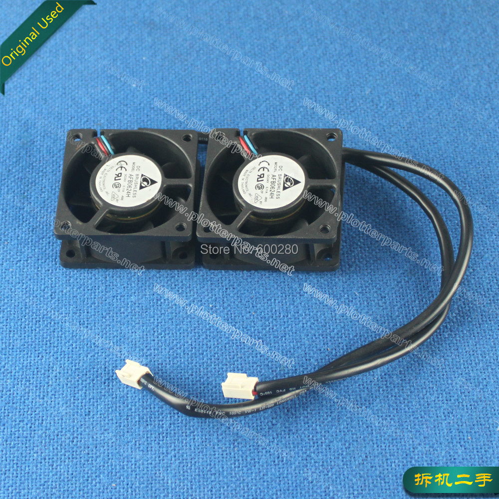 Q1251-60279,Q1251-60123 HP DesignJet 5000 5000PS 5100 5500 5500UV Cooling Fan Plotter Part