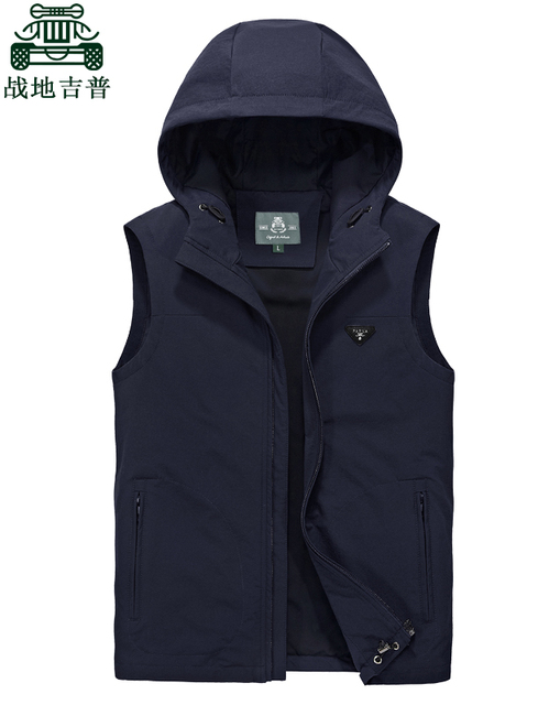 Man Waistcoat New Arrival 2017 Spring Autumn Brand Clothes Thin Pockets Casual Vest Coats Big Size L~6XL Waistcoat  Men CLOTHING