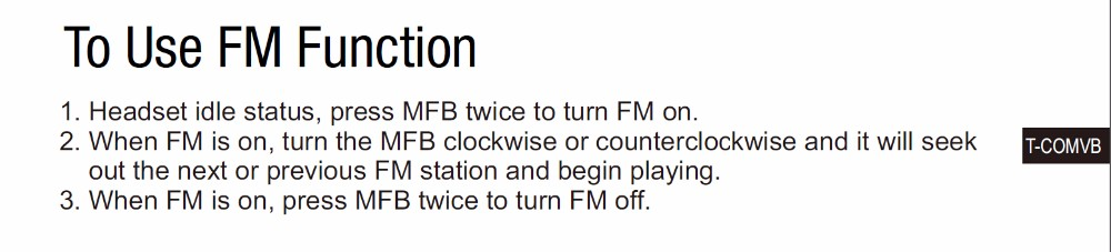 Use FM FUnction