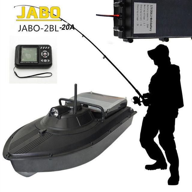 JABO-2BL-20A Profesión de Alta Velocidad 300 M Sonar Buscador de Los Pescados Noche Led RC Cebo Barco