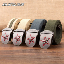 Multiple Sizes Mens Tactical Belt Military Canvas Outdoor Multifunctional Training Ceintures