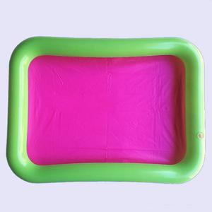 Image 3 - Inflatable Sand Tray Plastic Mobile Table For Children Kids Indoor Playing Sand Clay Color Mud Toys Accessories