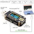 POWER-Z USB tester QC3.0/PD Digital voltmeter amperímetro Digital spannung strom amp volt Typ-C meter power bank detektor
