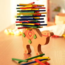 Early Learning Baby Wooden Animal Balancing Blocks Game
