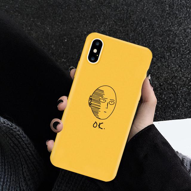 ONE PUNCH MAN SAITAMA OKE IPHONE CASE (3 VARIAN)