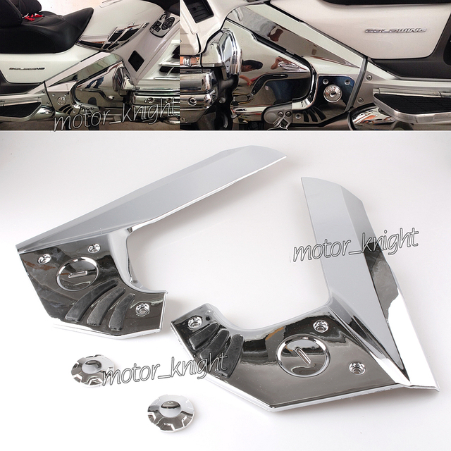 BOOMERANG FRAME COVERS FOR 2001 2017 HONDA GOLD WING GL1800 MODELS ...