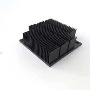 Image 4 - Disipador de calor de aluminio radiador para Chip electrónico LED RAM refrigerador 40*40*12,7mm de aluminio de alta calidad YL 0030