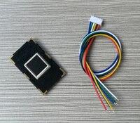 2PCS R301T Integrated Capacitive Fingerprint Module Fingerprint Collection Identification Module Fingerprint Recognizer Sensor