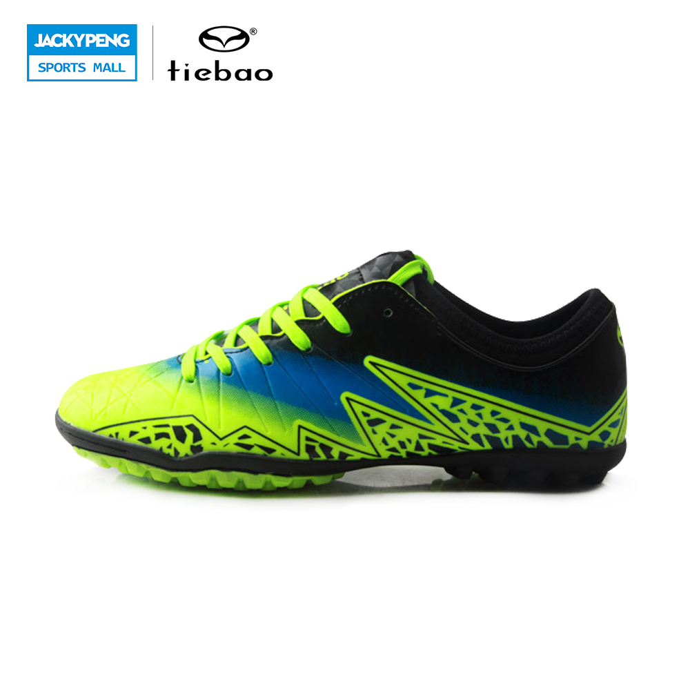 TIEBAO Professional Soccer Shoes Football Boots TF Turf Soles Sneakers Chuteira Futebol Soccer Cleats Artificial Turf Shoes