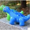 20 unids/lote envío libre Baño Juguetes Inflables Pequeño Dinosaurio Chico InflatableToy Bebé Jugar Juguete de Agua Juguetes de Playa Para Niños