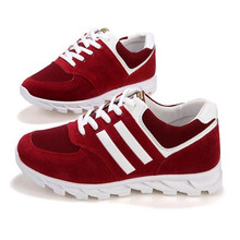Free shipping popular 2017 spring new fashion men's shoes leisure breathable flat shoes shoelace shoes Size 6.5–10