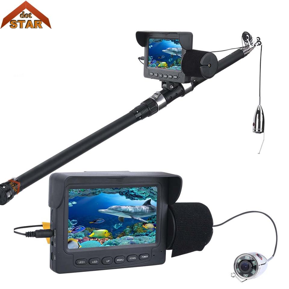 Stardot 1000TVL Pesca Submarina Câmera de Vídeo Kit 4.3 polegada 30 m Câmera Inventor Dos Peixes com Lâmpada Infravermelha Da Câmera De Vídeo Profissional