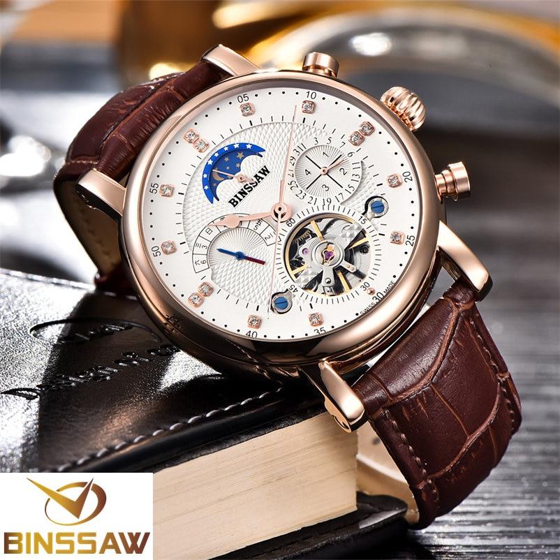 BINSSAW Classic տղամարդկանց ժամացույցներ - Տղամարդկանց ժամացույցներ - Լուսանկար 4
