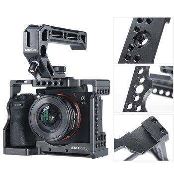 Корпус стабилизатор для фотоаппарата защитный чехол Противоскользящий быстрый выпуск прочный металл с резьбой отверстие электроника для ...