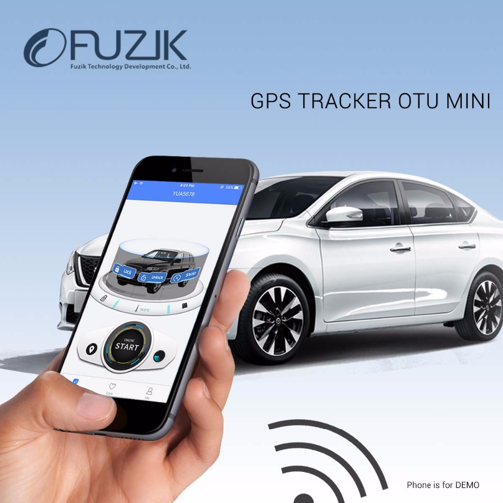 OTU Mini GPS Tracker GSM SMS Tracking Device with Smartphone Android/Ios/iPhone App