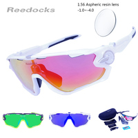 3 Pair Lens Photochromic Cycling Glasses Night Vision Outdoor Polarized Sunglasses MTB Road Sports Bike Eyewear
