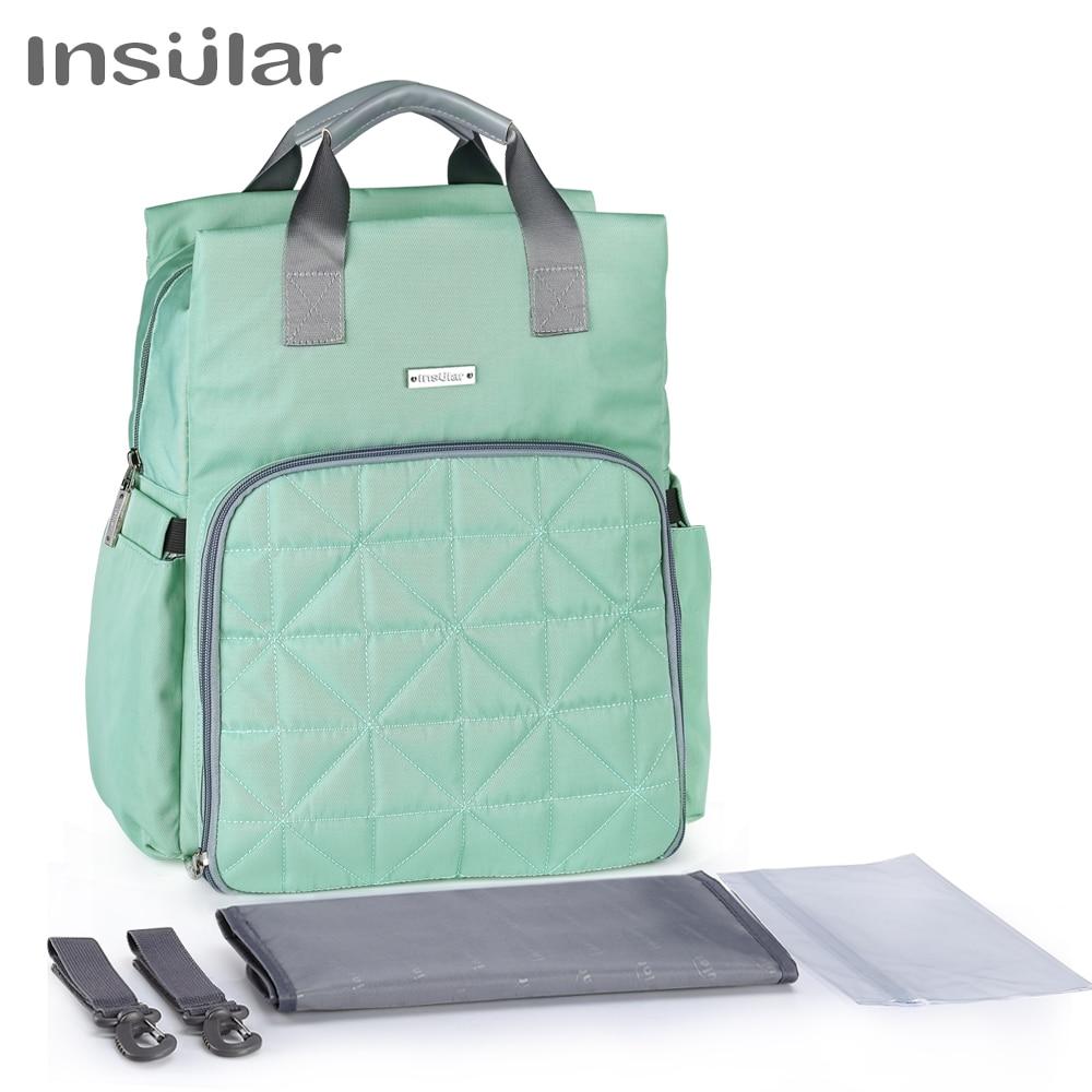 3pcs Mummy Maternity Baby Nappy Diaper Changing Bag Set Hospital Travel Handbag