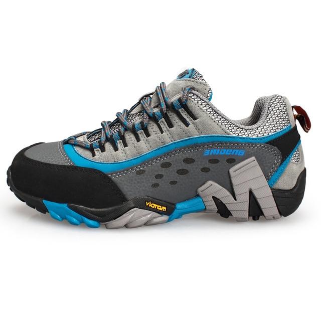 Baideng women's Hiking Shoes outdoor athletic sport shoes sneakers women Mountain trekking climbing shoes zapatillas mujer