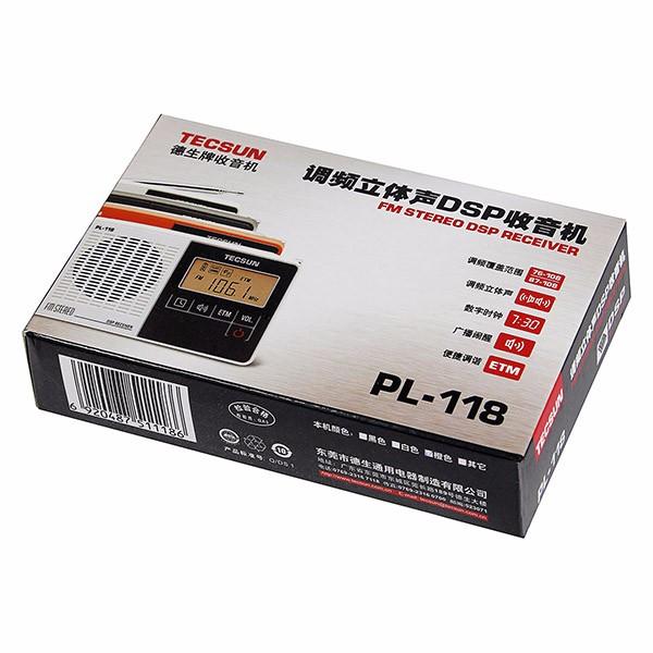 Hot Sale TECSUN PL-118 Mini DSP FM Stereo Radio (7)