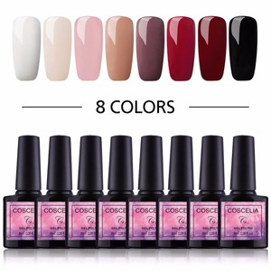 Image 2 - COSCELIA 6/8/10 Colors Gel Nail Polish For Nails Polish UV Gel Nail Set Kit For Nail Art Varnish Gel Set