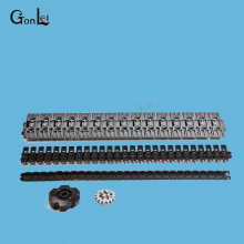 100Pcs/Lot Motorcycle Caterpillar Chain Technic Technology Mechanical No.3711 3873 57518 Brick DIY Block Assemble Particles Set