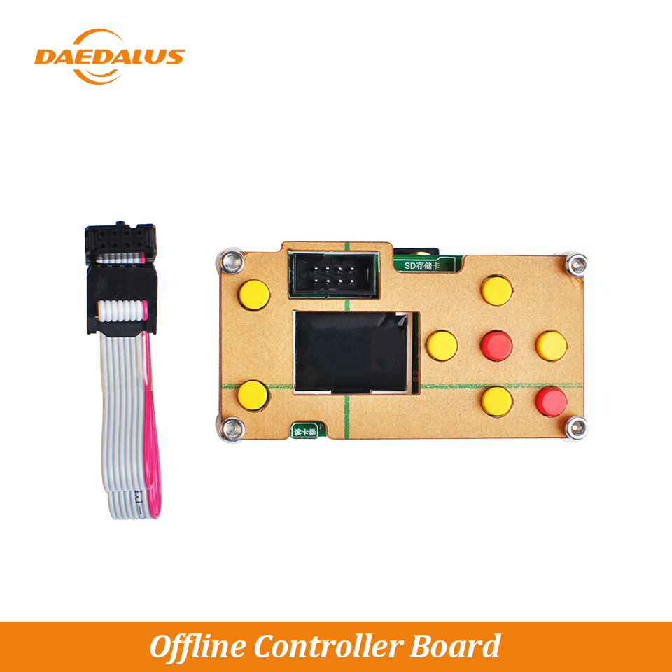 Daedalus CNC GBRL Offline Controller Board 3Axis CNC Controller SD Card Input Port For 3018 2418 1610 DIY Laser Lathe Engraver
