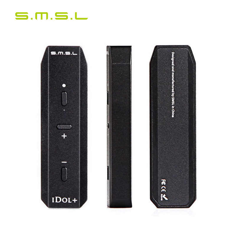 SMSL Idol + USB DAC Headphone Amplifier OTG Micro USB 192 KHz
