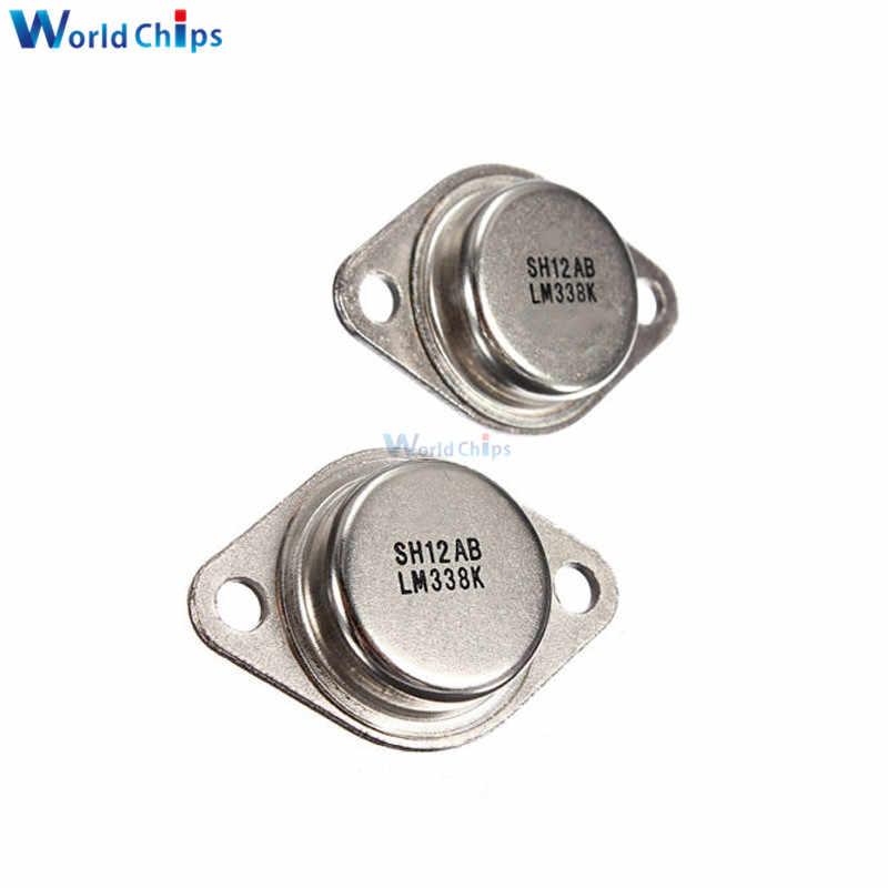 2 قطعة 5A LM338K LM338 الجهد قابل للتعديل منظم 1.2 V إلى 32 V