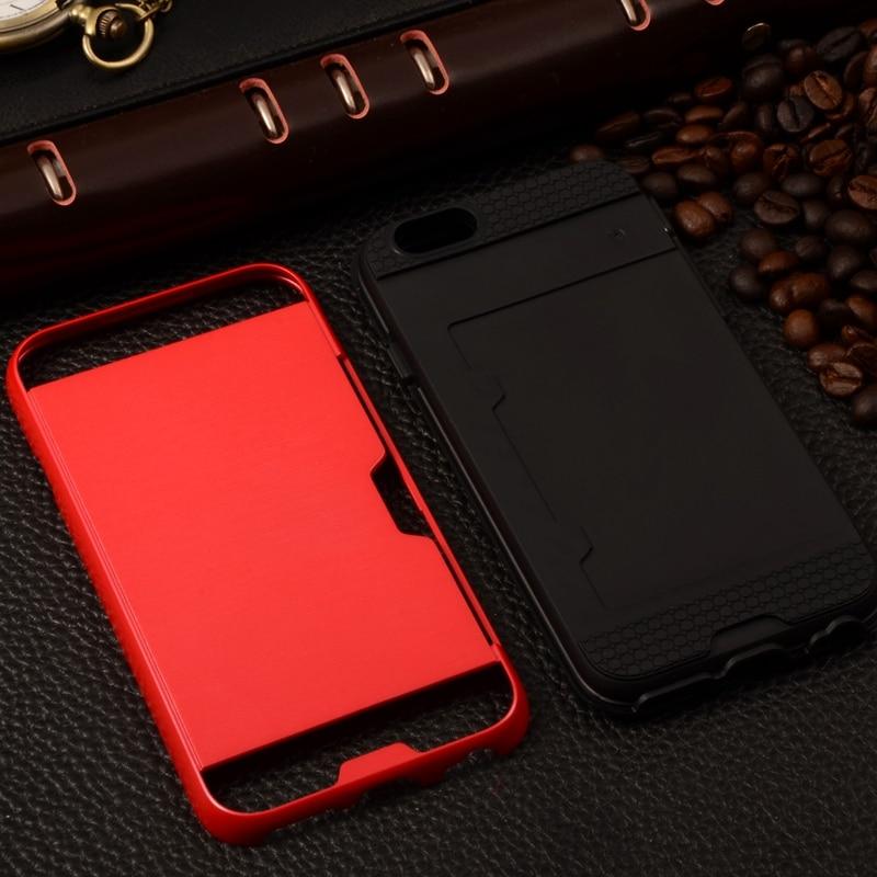 Para el caso del iphone 7 Coque de plástico de silicona metálica - Accesorios y repuestos para celulares - foto 2
