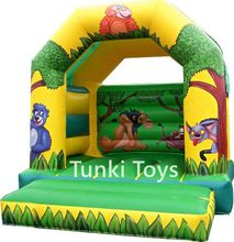 inflatable animal cartoon bouncer