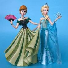 Vitrine princesse Elsa Anna blanche neige Couture De Force Figurine Collection jouet