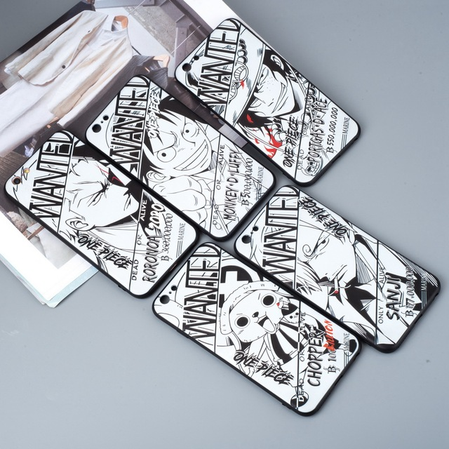 Anime Naruto/One Piece Phone Case For iPhone