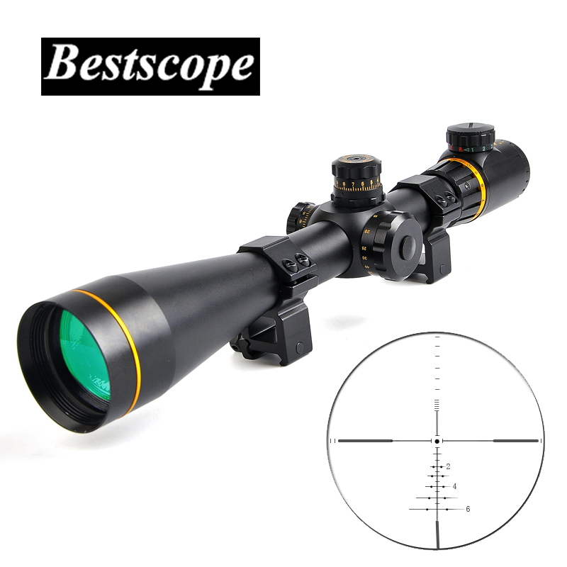 Bestsight 5-15x50 FFP Sight Rifle Scope Side Parallax Adjustment Long Eye Relief Rifle Scope Sniper Airsoft Hunting Scopes