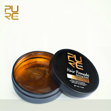 PURC 80ml Refreshing Smell Retro Styling Hair Pomades Strong Hold High Shine Natural Look Hair Wax For Hair Styling Products