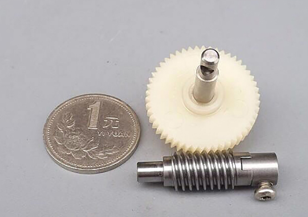 1 Set Metal Wheel Speed Reducer Gearset For DIY Accessory Plastic Worm Reduction Gear Set