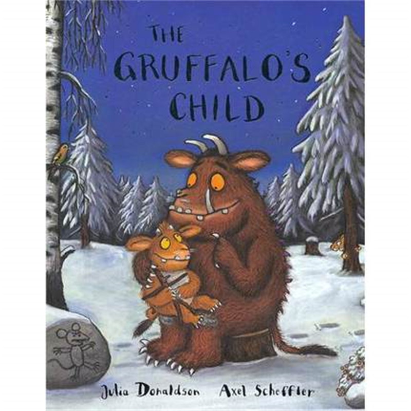 Free ShippingFree Shipping english picture book for children and baby The Gruffalo's Child Julia Donaldson елена анатольевна васильева english verb tenses for lazybones